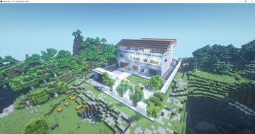 PAYAMANSION FROM TEAM PAYAMAN Minecraft Map & Project