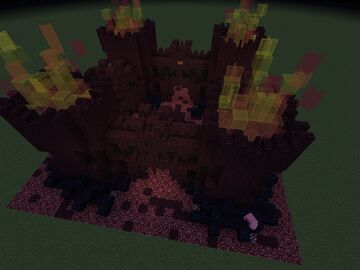 Minecraft Spawn (Nether Themed) Minecraft Map & Project