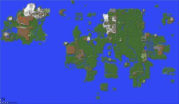 Gielinor - OSRS Entire Map (With Download) Minecraft Map & Project