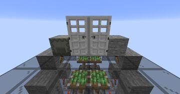 Redstone Key Door Minecraft Map & Project