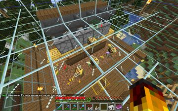 Automatic Bee Thingy Minecraft Map & Project