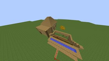 farm house and auto farm Minecraft Map & Project