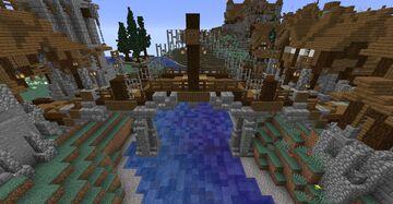 Nordic / medieval bridge #1 Project Aldinnheimr Minecraft Map & Project