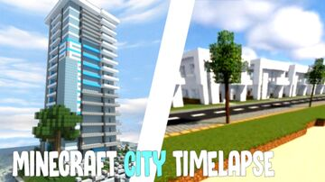Modern US Beach City (Download) Minecraft Map & Project