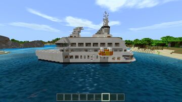 cruise ship for Minecraft bedrock!!! Minecraft Map & Project