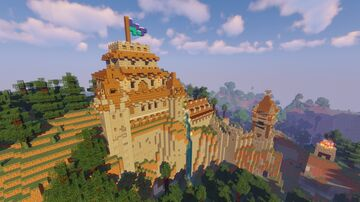 Spruce Castle One Minecraft Map & Project