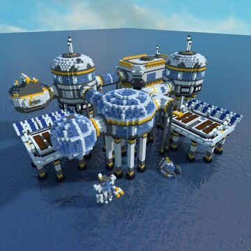 Trydar's Subnautica Buildings - Pack #1 Minecraft Map & Project