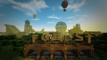 Forest fair themepark Minecraft Map & Project