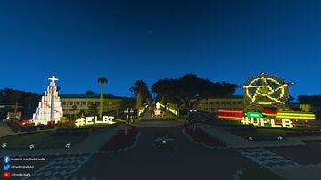 University of the Philippines Los Baños [Largest University Campus in the Philippines] 1.8:1 Scale Model in Minecraft Minecraft Map & Project