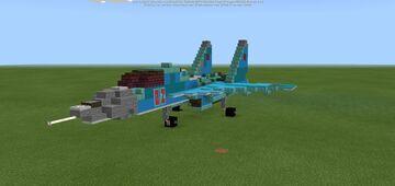 "Sukhoi Su-34 ""Fullback"" Minecraft Map & Project"