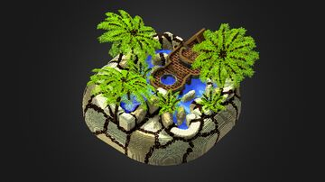 Tropical Spawn Minecraft Map & Project