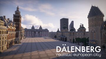 Dalenberg - the most realistic european city Minecraft Map & Project