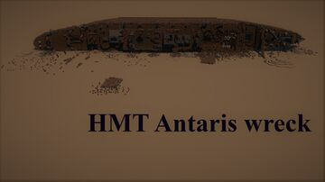 HMT ANTARIS (WRECK) Minecraft Map & Project
