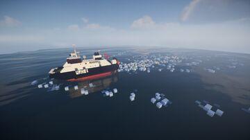 Mf/ Urnes (norwegian ferry) 1.25:1 Minecraft Map & Project