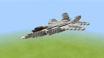 F-22 Raptor 1.5-1 scale Minecraft Map & Project