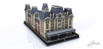 Build - London Train station Inspiration St Pancras - By Arimestic / Artyyx Minecraft Map & Project