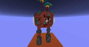 Decayed Strider Minecraft Map & Project