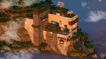 BEAUTIFUL Japanese Temple Minecraft Map & Project