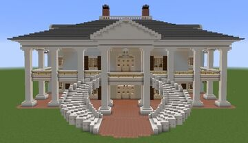 Evergreen Plantation House Minecraft Map & Project