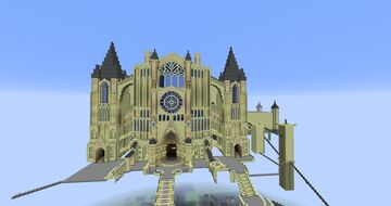 Dark Souls 1: Anor Londo Minecraft Map & Project