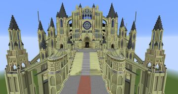 Dark Souls 1: Anor Londo Minecraft Map & Project