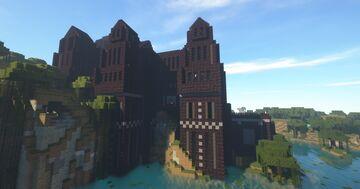 Large Tudor/Gothic Dark Creepy Mansion Minecraft Map & Project