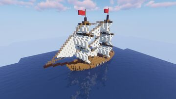 Civilian Ship Pack (schematics and world) Minecraft Map & Project