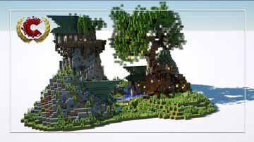 Magic Mountain Vally | Download Minecraft Map & Project