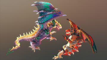 Two Dragons ❯ Sepheron & Laeros Minecraft Map & Project