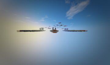 Venator class Minecraft Map & Project