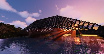 AMR - Auledion bridge and Central tower station Minecraft Map & Project