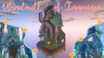 Windmill of Innocence 💫 OneChunk Minecraft Map & Project