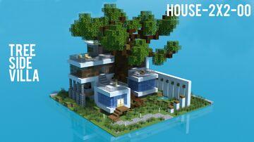 Tree-side Villa Minecraft Map & Project