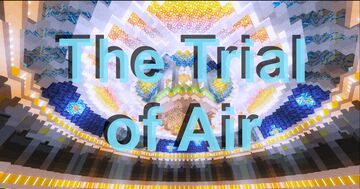The Trial of Air Minecraft Map & Project