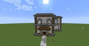 1.8.2 Random House Minecraft Map & Project