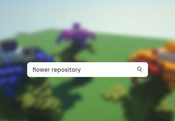 3 Medium Flower Schematics :) Minecraft Map & Project