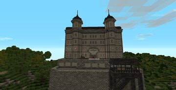 The Grand Vienna Hotel - WW2 Server Minecraft Map & Project