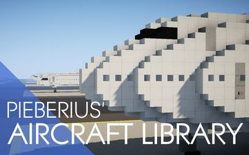 Pieberius' Aircraft Library Minecraft Map & Project