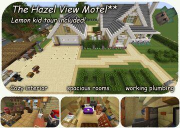 Hazel View Motel 2** Minecraft Map & Project