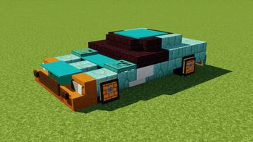 Ford GT40 Minecraft Map & Project