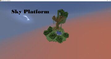 Sky Platform (UPDATE 2) Minecraft Map & Project