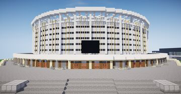 SKK Arena in Saint Petersburg, Russia Minecraft Map & Project