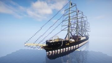 Sailingship Danzig Minecraft Map & Project