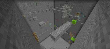Parkour Puzzle: parkour with puzzles Minecraft Map & Project