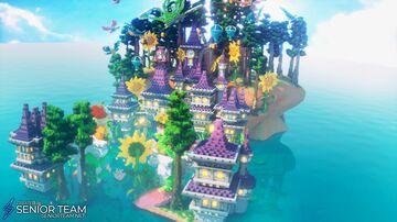 Fantasy Wonderland Castle Minecraft Map & Project