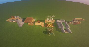 Redstone Training Field # 2  1.16 Minecraft Map & Project