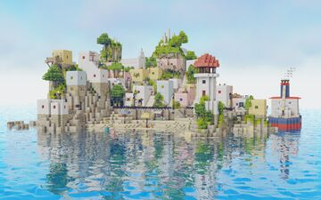 [DOWNLOAD] Oikos Island Minecraft Map & Project