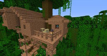 Poacher Camp in Jungle Minecraft Map & Project