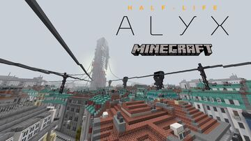 Half-Life: Alyx in Minecraft Minecraft Map & Project