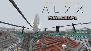 Half-Life: Alyx in Minecraft Minecraft Map & Project